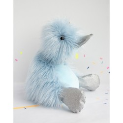 Pato de peluche azul 18 cm (Galaxy)