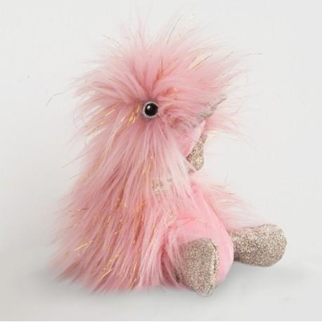 Pato de peluche rosa 30 cm (Comete)