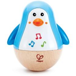 Tentetieso musical del pingüino de madera