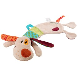 Jef, cuddle puppet in gift box