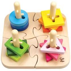 Puzle creativo de clavijas