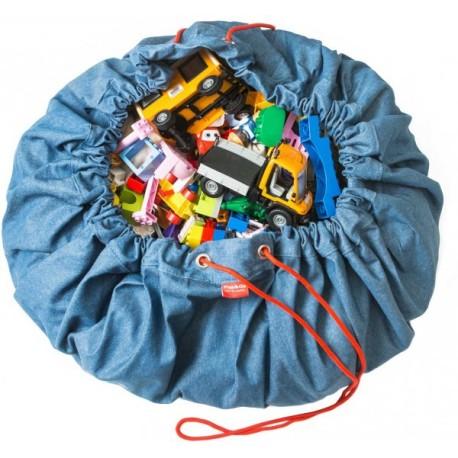 Sacos de juguetes Play & Go jeans