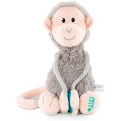 Mono gris de felpa pequeño Matchstick Monkey