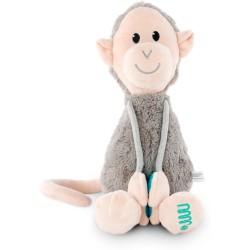 Mono gris de felpa grande Matchstick Monkey