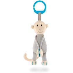 Mono azul colgante de punto Matchstick Monkey