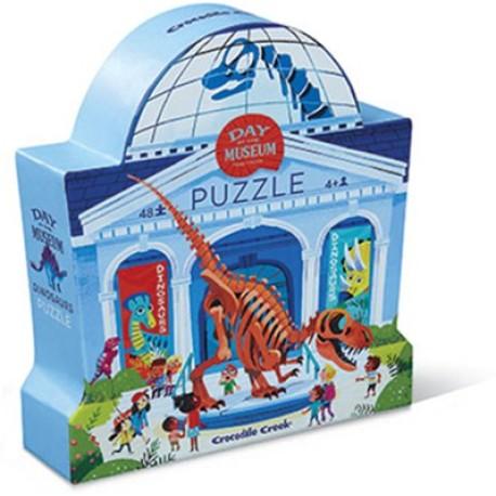 Puzle de 48 piezas del museo de los dinosaurios