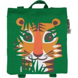 Mochila verde Tigre
