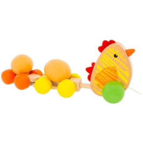 Muñeco de arrastre de la gallina