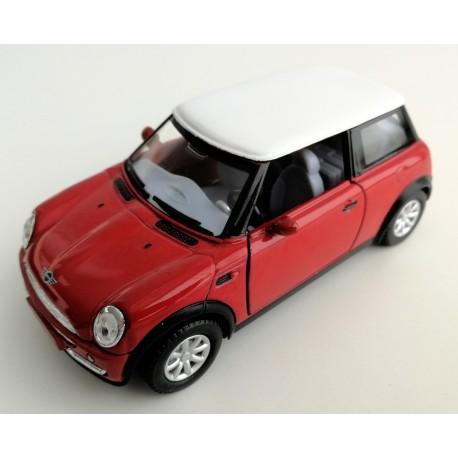 Coche Mini Cooper rojo