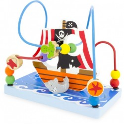 Laberinto del barco pirata