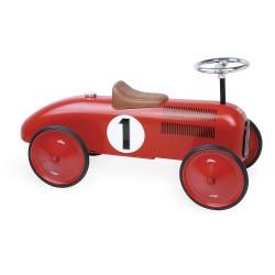 Correspasillos coche vintage rojo