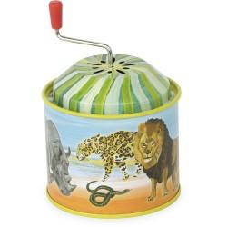 Caja de música animales