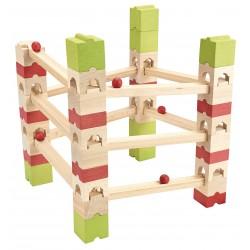 Circuito de canicas de 67 piezas