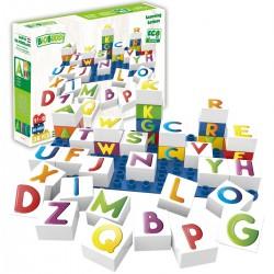 Bloques de construcción eco-friendlies de letras (36 piezas)