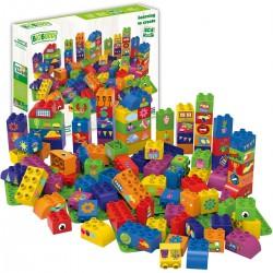 Bloques de construcción eco-friendlies de formas (100 piezas)