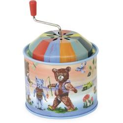 Caja de música oso