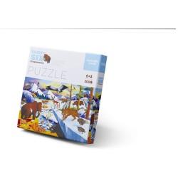 Puzle en caja 300 piezas - Edad de Hielo