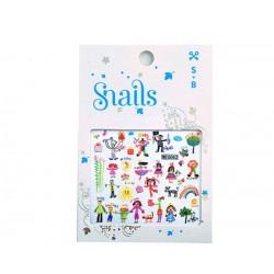 Mini pegatinas para decorar tus uñas (Baby Art)