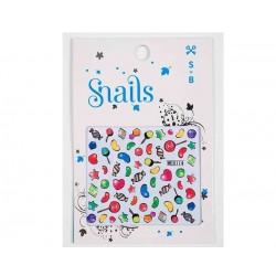 Mini pegatinas para decorar tus uñas (Candy Blast)