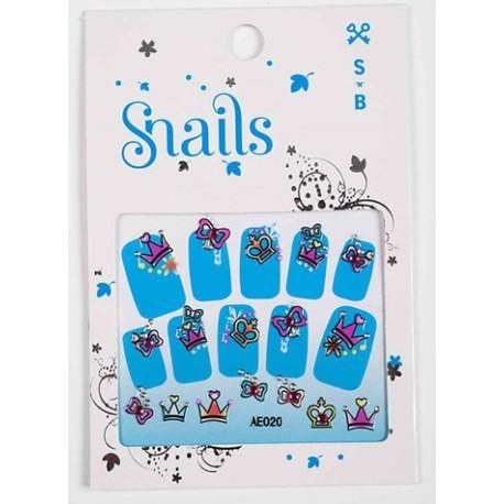 Mini pegatinas para decorar tus uñas (Perfect Princess)