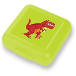 Fiambrera para sandwich (tupper) Tiranosaurio Rex