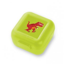 Set de 2 mini fiambreras para snacks (tupper) Tiranosaurio Rex