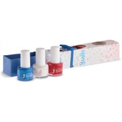 Pack de 3 mini pinta uñas París (Colores: Ladybird - Forst Queen y Lily)
