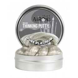 Lata de plastilina de 7,5 cm - Precious - Pure Platinum