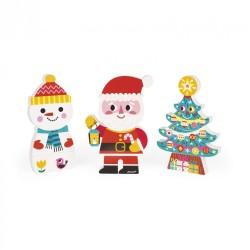 Figuritas de navidad magnéticas