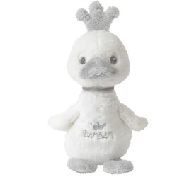 Patito de peluche (Ducking Cuddle) de color blanco
