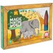 Pintura mágica safari