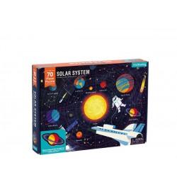 Puzle de 70 piezas del Sistema Solar