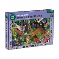 """Puzle """"busca y encuentra"""" de 64 piezas del bosque"""
