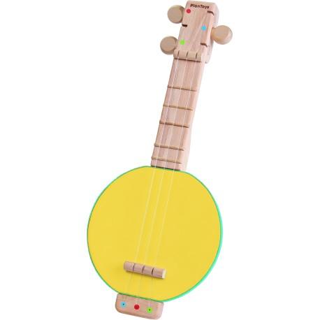 Banjolele de madera