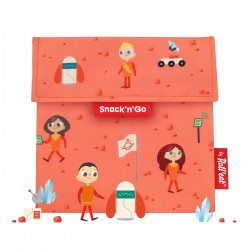 Porta snacks Snack'n'Go Kids Space (naranja)