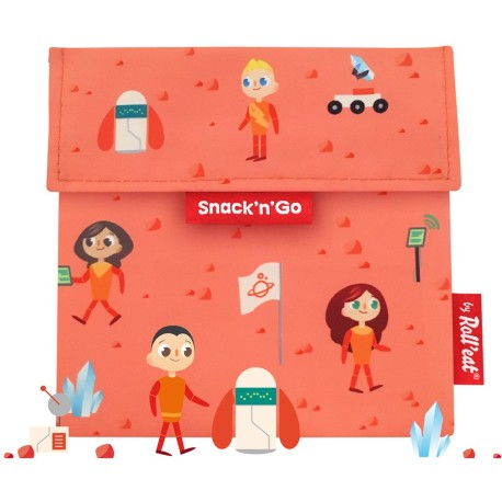 Porta snacks Snack'n'Go Kids Space (naranja)