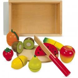 Tabla para cortar 8 frutas