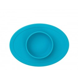 Vajilla infantil de silicona Tiny Bowl azul