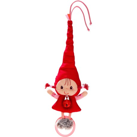 Sonajero y campana la Caperucita Roja (Little riding hood bell rattle)