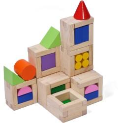Juego de construcción de 54 piezas